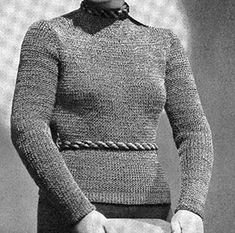 Link to download the FREE pattern for The Turnabout Cardigan Pattern #1060