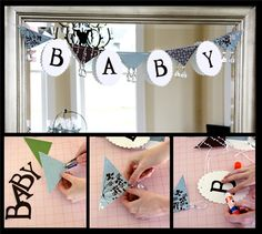 Project Center - Chandelier Baby Banner