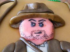 marsepeintaart Indiana Jones