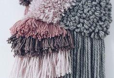 Zima. Mroźna. Zaśnieżona.  #nuda_studio#makatka#łapaczmoli#wallhanging#handmade#design#decoration#interiordesign#wallart#textileart#textile