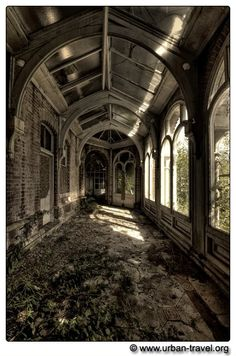 So sad to see such beautiful places falling to ruin.