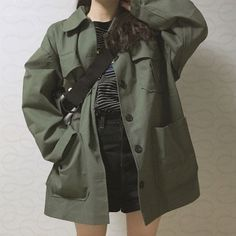 K Fashion, Ulzzang Fashion, Teen Fashion Outfits, Edgy Outfits, Korean Outfits, Retro Outfits, Cute Casual Outfits, Soft Grunge Outfits, Modest Fashion