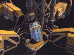 ArtStation - Automated Mining Drill, Matteo Mingozzi