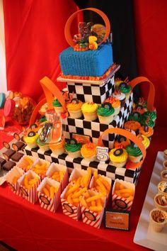 Bella Events: Hot Wheels Party www.BellaEventsFL.com