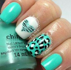 Love this ♥ these nails are perf for my sister