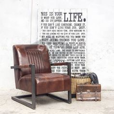 Fauteuil Cadillac Industrial