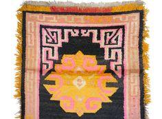 170x94 cm antik Tibetischer Khaden Yoga Meditation von KabulGallery