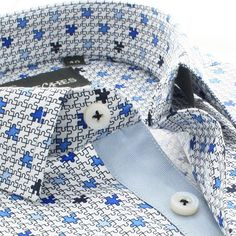 Gentlemen play your style with the Puzzle!  Shop at 16stitches.com.  #menswear #mensstyle #mensfashion #summer #style #fashion #trend #trendy #shirts #luxury #formal #fb #formals #formalwear #classy #classic #classymen #dapper #dappermen #instalike #instagood