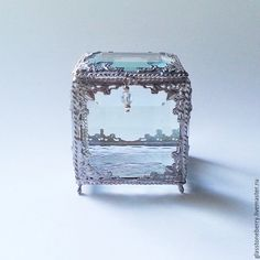 Ring Pillow, Glass Boxes, Girly Things, Snow Globes, Jewelry Box, Alternative, Rings For Men, Wedding Ideas, Display