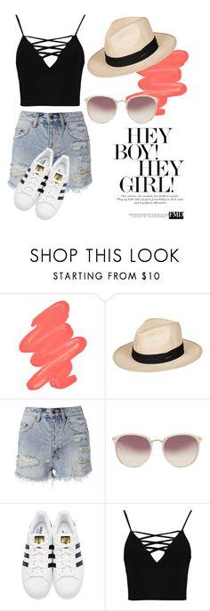 """Untitled #160"" by fashion-natalia on Polyvore featuring Obsessive Compulsive Cosmetics, Roxy, Ksubi, Linda Farrow, adidas Originals and Boohoo"