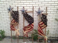 ideas about Tobacco Sticks Patriotic Crafts, Patriotic Decorations, July Crafts, Americana Crafts, Patriotic Party, Paint Stick Crafts, Tobacco Sticks, Painted Sticks, Kids Wood