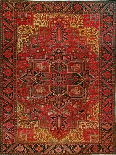Heriz, persian carpet.