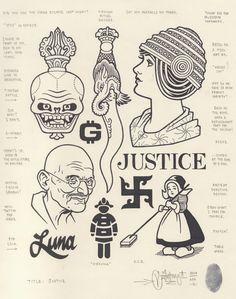 """originalgiantcontent: """"Justice"""", 2014."""