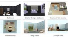 Free Online Interior Design Planner v3.0 & Sweet Home 3D - Draw floor plans and arrange furniture freely. A ...