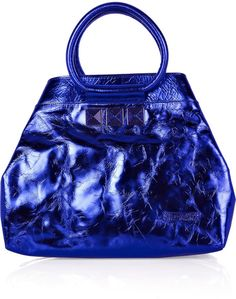 MARC JACOBS   Cruise Metallic Leather Tote - Lyst