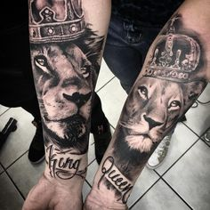 hyper-realistic couple tattoo © Thomas Azzarini Tattooist at Brush Tattoo Studio in La Spezia