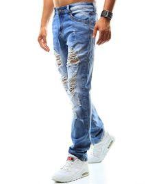 Pánske modré džínsové nohavice Modeling, Jeans, Fashion, Moda, Fasion, Models, Jeans Pants, Blue Jeans, Denim
