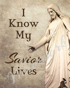I Know My Savior Lives Primary 2015 Theme by GreenJelloSalad