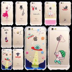 Beautiful Girl Cute Cats Rabbit Dolphin TPU Soft Clear Cover Case Fundas Coque for iPhone SE 5 5S 6 6S Plus Anti-Knock Spiderman
