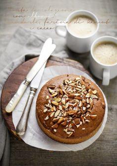 - VANIGLIA - storie di cucina: torta da colazione con albumi, mandorle, farina di kamut e cacao.