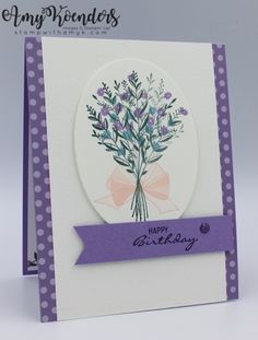 Stampin' Up! Wishing You Well Birthday Card for Fab Friday Stampin' Up! Wishing You Well Birthday Card for Fab Friday – Stamp With Amy K Creative Birthday Gifts, Simple Birthday Cards, Birthday Cards For Women, Happy Birthday Cards, Diy Birthday, Birthday Recipes, Birthday Presents, Birthday Cakes, Birthday Parties