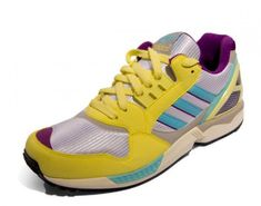 1eb0578d55cd1 Adidas ZX 9000 - Yellow - Silver - Voilet - SneakerNews.com