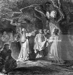 gathering-of-mistletoe-among-the Druids in Gaul