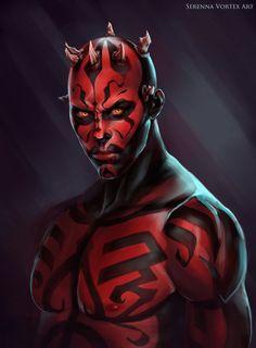 Warrior from the dark side.