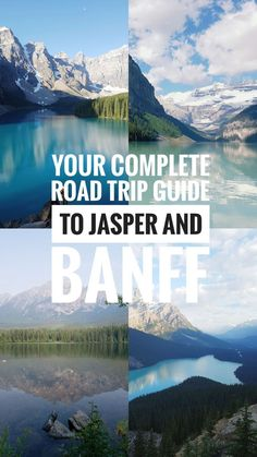 Road Trip Itinerary to Jasper and Banff – all the main sights to stop at! Road Trip Itinerary to Whistler, Cool Places To Visit, Places To Travel, Travel Destinations, Vancouver, Canada Travel, Travel Usa, Canada Trip, Travel Tips