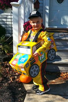 my son wanted to be a racecar driver and had to by kyle busch i