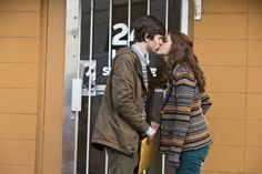 Norman Bates & Emma Decody from Bates Motel (TV Series 2013–2014) - this scene was cute :-)