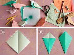 origami love birds
