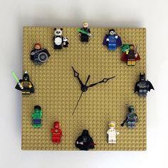 Relógio lego