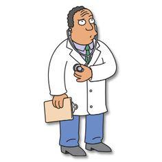 Dr. Julius M. Hibbert - The Simpsons - Free Vector