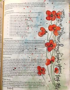 Ecclesiastes Bible Journaling Art Bible art journaling by Bible Drawing, Bible Doodling, New Bible, Drawing Templates, Bible Verse Art, Art Journal Inspiration, Daily Inspiration, Illustrated Faith, Christian Art