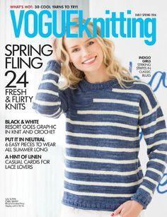 Vogue Knitting  Early Spring 2016 - 轻描淡写 - 轻描淡写