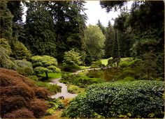 The Bloedel Reserve Located on Bainbridge Island in Washington state, The Bloedel Reserve is 150 acres of pure, Pacific Northwest awe.