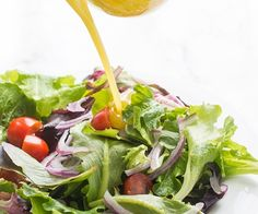 Honey Mustard Vinaigrette - a fast and easy salad dressing recipe