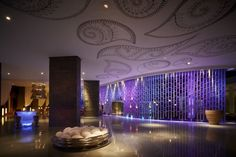 Retro Circular Delightful Interior Lighting Fixtures Jeremy Woodhouse : Fantastic Spacious Spacious Interior Entrance Lighting Design