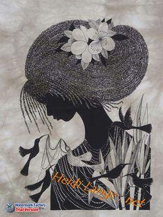 Heidi Lange Batiks Made in East Africa African Paintings, African Artists, White Art, Black Art, African American Artwork, African Colors, Easy Canvas Painting, Africa Art, Elephant Art