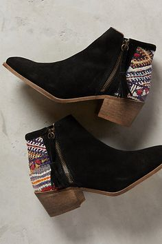 Howsty Tahirah Booties #anthropologie - These are pretty rockin' too!