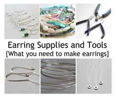 Earring Supplies and Tools