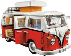 10220 Volkswagen T1 Camper Van - LEGO Exclusives sett - Serie eller Tema