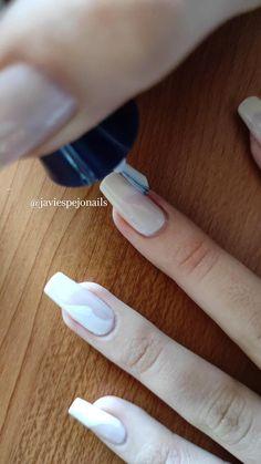 Opi Nails, Shellac, Manicure, Pix Art, Stylish Nails, Nail Tutorials, Simple Nails, White Nails, Nail Designs