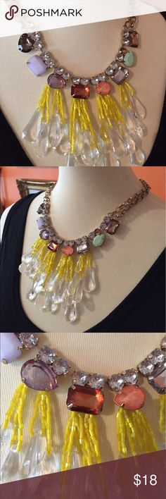 """Statement necklace #2! Fun and colorful.  Jazz up your favorite sundress!  Length is approximately 18.5"""". Jewelry Necklaces"""