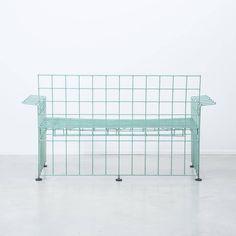 Bruno Munari / Abitacolo Wire Sofa, Robots, Italy, 1972