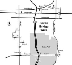 SD Seven Bridge Walk - Maplets