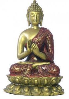 Dharmachakra mudra. Symbolic gesture of the Buddha setting into motion the wheel of the teaching of Dharma.