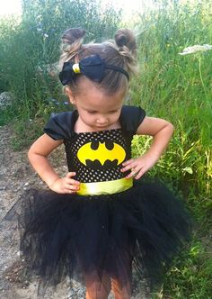 Batgirl Halloween Costume by TutuCuteNSweet on Etsy, $35.00