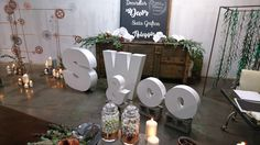 Wedding Ceremony Inspiration- giant letters -Space Sweetness&Co - Event Decor